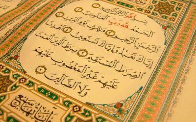 1 letter uit de Koran!